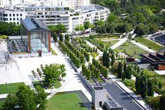 Parc Citroen, Paris