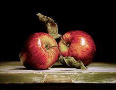 Stilleven met twee appels- Verkoop Galerie Lieve Hemel
