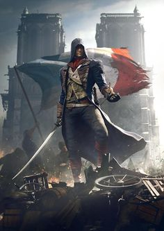 I'm not a gamer, but this is the hottest video game costume/uniform (WTH do I call this?) ever. Go French Revolution! Assassin's Creed Unity