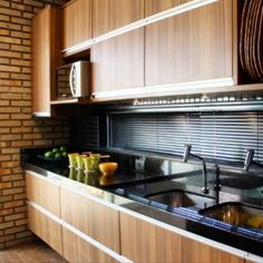 Cozinha por André Carício #kitchen #homedecor #decoração