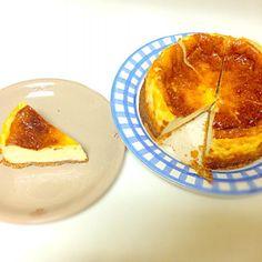 水切りヨーグルトを使ってのチーズケーキ♡ - 14件のもぐもぐ - チーズケーキ by sanpomichijam10