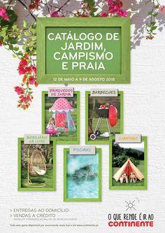 Catálogo de jardim, campismo e praia Continente 12 de Maio a 09 de Agosto pub