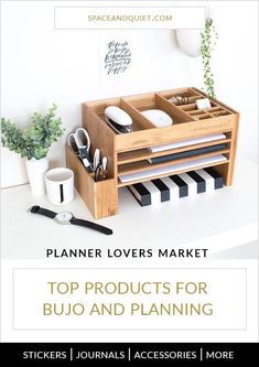 Get my Top Product Picks for Bullet Journaling and Planning. Click through to view the latest collection of planner products. #plannerlovers #bulletjournal #bulletjournaling #planning #planneraddict #plannerproducts #bujo #bulletjournalproducts #etsyproducts #etsyplannerproducts #plannerloversmarket #spaceandquiet