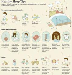 Sleep tips.