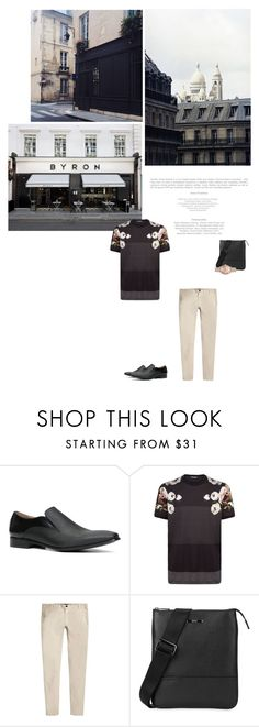 """""""Untitled #87"""" by tantisper ❤ liked on Polyvore featuring ALDO, BYRON, Dolce&Gabbana, River Island, BOSS Hugo Boss, men's fashion and menswear"""