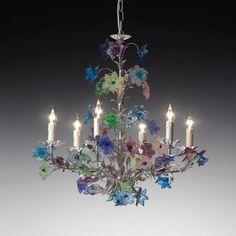 Desideria Murano Glass Chandelier