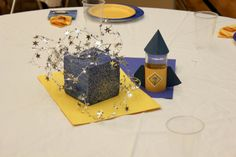 Blue and gold space theme on pinterest cub scouts banquet and