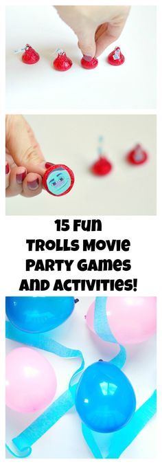 15 Troll Movie Party Games and Activities
