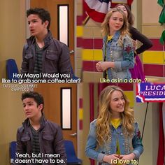 "#GirlMeetsWorld 1x14 ""Girl Meets Friendship"" - Rebel and Riley"