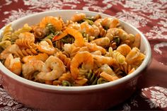 Advocate staff photo by TRAVIS SPRADLING  --  Serve slow-cooked Sauteed Ranch Shrimp over noodles or other pasta.