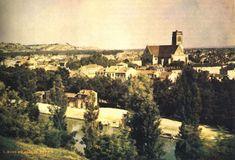 Vista de Agen, França - 1987 -  A primeira foto utilizando impressão no papel foi tirada alguns anos mais tarde, em 1877, pelo pioneiro fotógrafo francês Louis Ducos du Hauron: