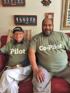 Ace is a retired pilot & his co-pilot, Marvin, helps him navigate to stay active. Home Health Care, Stay Active, Elderly Care, Pilot, Mens Tops, Life, Pilots
