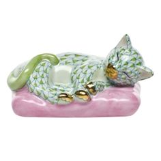 Herend Sweet Dreams Key Lime-New for 2012-Love the colors!