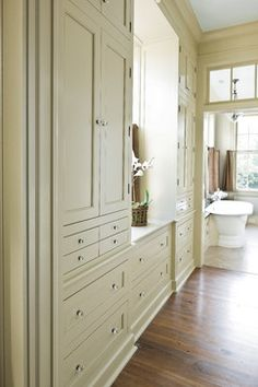 Walk Through Closet To Bathroom walk through closet design ideas, pictures, remodel, and decor