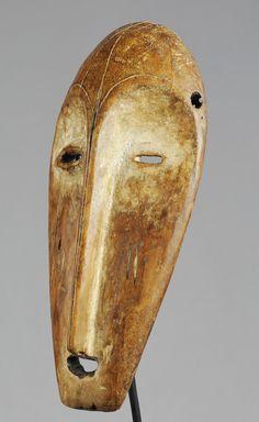 Masque Lega Mask - Afrika African Tribal Art Africain #tribal #africanart #tribalart arte africano Afrikanische Maske maschera mascara masker #lega #warega