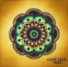 Resultado de imagen para flowers mandala watercolor