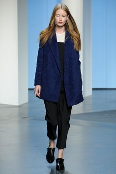 Tibi | Fall 2014 Ready-to-Wear Collection | Style.com // cobalt coat+beauty