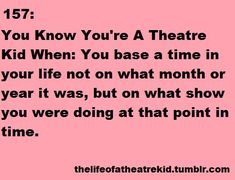 OMG... this. THIS is what I do all the time. Between military moves and shows... THAT'S how you figure out where you were when.....