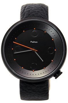 From the Padron Watch Company: Padron Hennepin I Black (Pre-Sale)