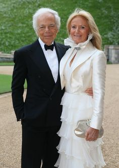 Ralph and Ricky Lauren - The Royal Marsden Celebrated in Windsor