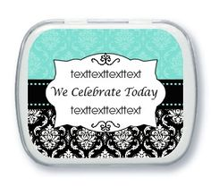 Cumstom candy favors - wedding - birthday - shower - COUPON is saveme5