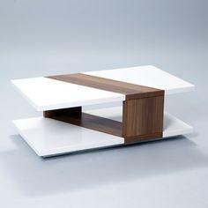 Matrix Bianca Coffee Table...odd. but I am drawn to this