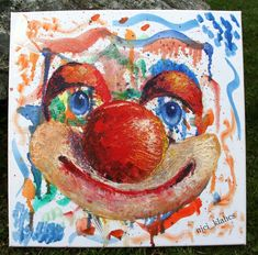 A clown #clowndrawing #clown #oildrawing #drawing Drawings, Painting, Art, Painting Art, Sketch, Paintings, Kunst, Paint, Draw