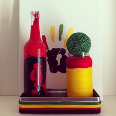 :) Recycled Bottles, Recycling, Jar, This Or That Questions, Simple, Crafts, Home Decor, Manualidades, Recycle Bottles