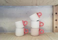 Ceramuc cups, Henkel aus andersfarbigem Ton?