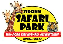 The Virginia Safari Park is located in Rockbridge county, at exit 180/ 180-B off I-81 in Natural Bridge, Virginia. (229 Safari Lane, Natural Bridge, Virginia 24578)