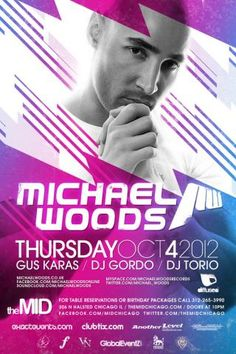 October 4 - Michael Woods - Mid Thursdays