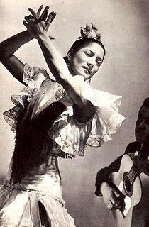 Legendary Flamenco Dancer, Carmen Amaya