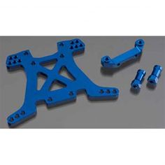 Buy your Traxxas Shock Tower Rear Aluminum Slash 4x4 (Blue) (TRA6838X) at RC Planet and save on all our Traxxas parts and accessories.