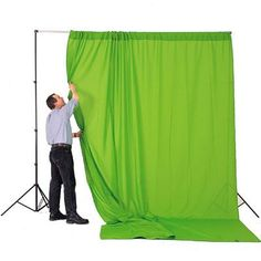Lastolite 3mx3.5m Curtain - Chromakey Green