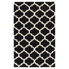 Pollack Rug in Black  at Joss and Main