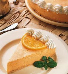 Cheesecake de naranja #receta #torta