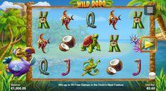 Wild Dodo tekijä Side City Studios ilmaiseksi Casino Night, Casino Party, Casino Games, Game Info, Free Slots, Studio City, Slot Machine, Free Games, Playstation