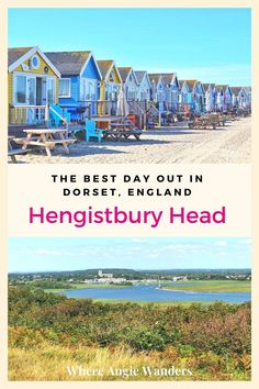 Hengistbury Head is the perfect place to discover the Dorset coastline with cliff walks, a sandy beach and ferries to Christchurch Harbour