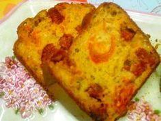 cake chorizo et tomates cerises aux herbes de provences