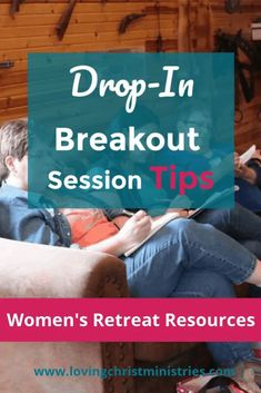 Make everyone happy at your next Christian women's retreat using these tips for scheduling and planning drop-in breakout sessions. #womensministry #christianwomen Christian Retreat, Christian Living, Women's Retreat, Retreat Ideas, Romans 15 5, Christian Women's Ministry, Day Schedule, Christian Resources, Christian Devotions