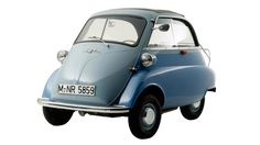 In the strange little world of micro-cars, the BMW Isetta 300 remains a legend. Bmw Isetta, Bmw Autos, Bmw 2002, Ford Gt, Heinkel He 162, Bmw Concept Car, Bmw M5, Carros Bmw, Automobile