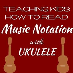 Learn to Read Music Notation with the Ukulele! – Unit 1 This resource is for music teachers leading a classroom ukulele course.