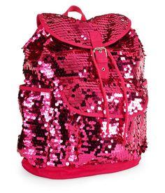 Kids Neon Paillette Backpack