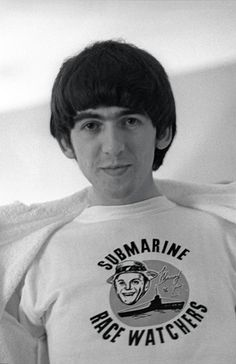 Ringo's pictures of the Beatles: George Harrison in Miami  1960s