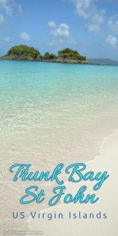 Trunk Bay Beach, St John, US Virgin Islands National Park