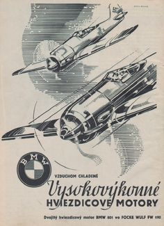 Vintage Aircraft – The Major Attractions Of Air Festivals - Popular Vintage Vintage Advertisements, Vintage Ads, Vintage Posters, Luftwaffe, Nose Art, Bmw 801, Focke Wulf 190, Ww2 Propaganda Posters, Airplane Art