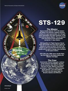 STS-129 Mission poster