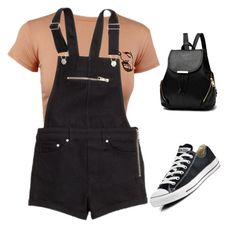 """""""Untitled #11"""" by j-j-j-j-j on Polyvore featuring H&M and Converse"""