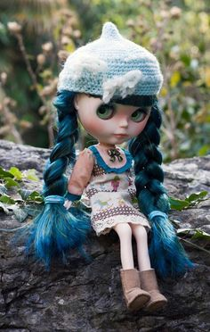 Custom blythe by me jolly Roger dolls