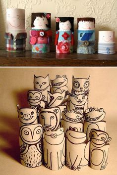 Crafts out of toilet paper rolls creative toilet paper roll crafts diy project toilet paper roll . Toilet Roll Craft, Toilet Paper Roll Art, Kids Toilet, Paper Towel Crafts, Toilet Paper Roll Crafts, Cardboard Rolls, Cardboard Crafts, Foam Crafts, Kids Crafts